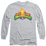 Long Sleeve: Power Rangers - MMPR Logo T-shirts