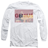 Long Sleeve: Ray Charles - Genius Knockout T-Shirt