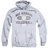 Hoodie: Top Gun - Nas Miramar Volleyball Pullover Hoodie