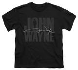 Youth: John Wayne - Silhouette Signature T-Shirt