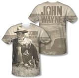 John Wayne - Stoic Cowboy (Front/Back Print) Sublimated