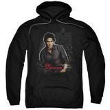 Hoodie: Vampire Diaries - Damon Pullover Hoodie