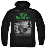 Hoodie: The War Of The Worlds - Attack People Poster Pullover Hoodie