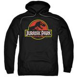 Hoodie: Jurassic Park - Classic Logo Mikina s kapucí