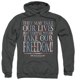 Hoodie: Braveheart - Freedom Pullover Hoodie