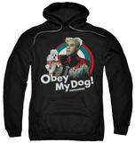 Hoodie: Zoolander - Obey My Dog Pullover Hoodie