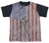 Youth: M.A.S.H - Flagged(black back) T-shirts