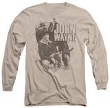 Long Sleeve: John Wayne - In The West Long Sleeves