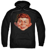 Hoodie: Mad - Alfred Head Shirt