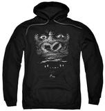 Hoodie: King Kong - Up Close Pullover Hoodie