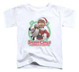 Toddler: Santa Claus Is Comin To Town - Penguin T-shirts