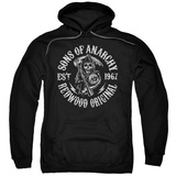 Hoodie: Sons Of Anarchy - Redwood Originals Pullover Hoodie