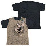 Youth: Popeye - Strongs To Tha Finch(black back) T-shirts