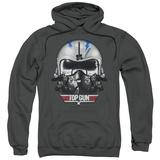 Hoodie: Top Gun - Iceman Helmet Pullover Hoodie