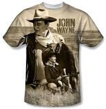 John Wayne - Stoic Cowboy T-Shirt