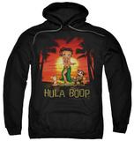 Hoodie: Betty Boop - Hulaboop Pullover Hoodie