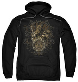 Hoodie: Sun Records - Scroll Around Rooster Pullover Hoodie