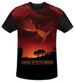 Youth: Gone With The Wind - Sunset(black back) T-shirts