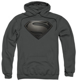 Hoodie: Man Of Steel - Mos Desaturated T-shirts
