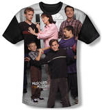 Youth: Malcolm In The Middle - Family(black back) T-shirts