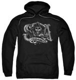 Hoodie: Sons Of Anarchy - Charming Ca Pullover Hoodie