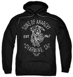 Hoodie: Sons Of Anarchy - Fabric Print Pullover Hoodie