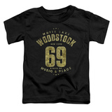Toddler: Woodstock - White Lake Shirts
