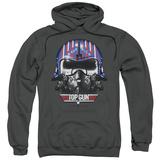 Hoodie: Top Gun - Maverick Helmet Pullover Hoodie