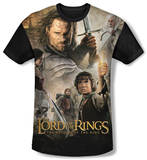 Youth: The Lord Of The Rings: The Return Of The King - King Poster(black back) T-shirts