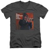 John Coltrane - Last Train V-Neck T-Shirt
