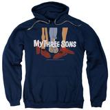 Hoodie: My Three Sons - Shoes Logo Pullover Hoodie