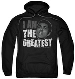 Hoodie: Muhammad Ali - I Am The Greatest Pullover Hoodie