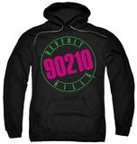 Hoodie: Beverly Hills 90210 - Neon Pullover Hoodie