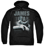 Hoodie: James Dean - Immortality Quote Pullover Hoodie