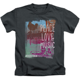 Juvenile: Woodstock - Plm Shirt