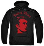 Hoodie: James Dean - Deep Thought Shirts