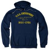 Hoodie: Star Trek - Enterprise Athletic Pullover Hoodie