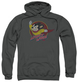 Hoodie: Mighty Mouse - Mighty Circle Pullover Hoodie