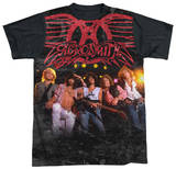 Aerosmith - Stage(black back) Sublimated
