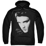 Hoodie: Elvis Presley - Face Pullover Hoodie