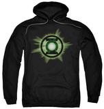 Hoodie: Green Lantern - Green Glow Pullover Hoodie