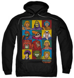 Hoodie: Masters Of The Universe - Character Heads T-shirts