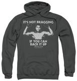 Hoodie: Muhammad Ali - Flexing Pullover Hoodie