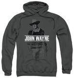 Hoodie: John Wayne - Fade Off Pullover Hoodie