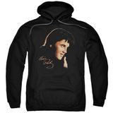 Hoodie: Elvis Presley - Warm Portrait Pullover Hoodie