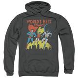 Hoodie: Justice League - World's Best Pullover Hoodie