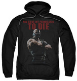 Hoodie: The Dark Knight Rises - Permission To Die Pullover Hoodie