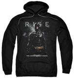 Hoodie: The Dark Knight Rises - Batman Rise Pullover Hoodie