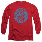 Long Sleeve: Jefferson Airplane - Round Logo T-shirts