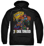 Hoodie: Judge Dredd - Bike And Badge T-shirts